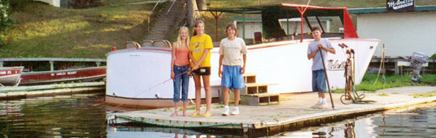 Minnesota vacations on Lake Winnie at McArdle's Resort